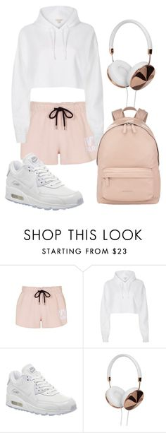"""""""Too cute for boys"""" by casualbae123 ❤ liked on Polyvore featuring Topshop, River Island, NIKE, Frends and Givenchy"""