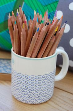 Your Pencils Infiltrated mug.