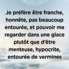 I prefer myself Love Me Quotes, Words Quotes, Best Quotes, Life Quotes, Sayings, French Words, French Quotes, Les Hypocrites, Quote Citation