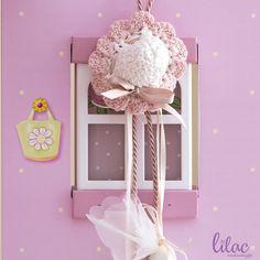 Crochet baptism favours, crochet christening favours, πλεκτή μπομπονιέρα βάπτισης καπέλο, crochet mini hat, baby shower favours #christening #baptism #christeningfavours #babyshowerfavors #μπομπονιέρα #κέρασμα #κουφέτα #crochetfavours Unique Baby Gifts, Handmade Gifts, Christening Favors, Crochet Baby, Gifts For Kids, Baby Shower Gifts, Lilac, Kid Craft Gifts, Presents For Kids