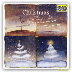Christmas With The George Shearing Quintet: Includes Ding Dong! Merrily on High; Have Yourself a Merry Little Christmas; Merry Little Christmas, Christmas Music, White Christmas, Christmas Gifts, Holiday, Cd Labels, Nat King, Barry Gibb, Cd Album
