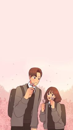 Cute Couple Art, Cute Couples, Anime Couples Cuddling, Cute Couple Wallpaper, Wattpad Book Covers, Cute Wallpapers, Iphone Wallpapers, Cartoon Wallpaper Iphone, Motivational Wallpaper