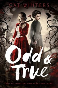 Cover Reveal: Odd & True by Cat Winters - On sale September 12, 2017! #CoverReveal