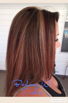 Fall 2016 hair red copper brown blonde hair