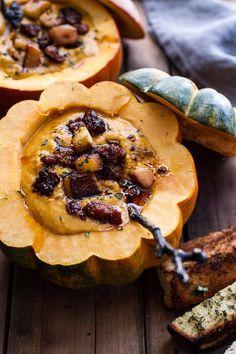 Chipotle Pumpkin Soup | Half Baked Harvest