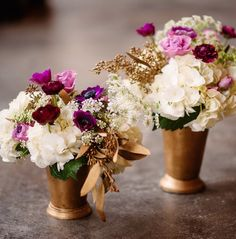 In traditional fashion, these romantic wedding ideas are stunning and perfect for fall and winter weddings! Passionate and classic colors like white, purple, red and gold are dazzling within each one of these breathtaking details. Thanks to Stems Floral Design and Productions, these seasonal romantic wedding ideas have the loveliest lush floral arrangements. Check them […]