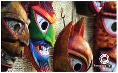 Quito - Ecuador. Mask design. Photography by Fernando Terán.