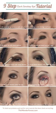 Smoky eye tutorial! If only it was as easy as she makes it look!