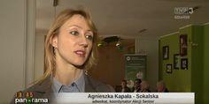 """Mini-reportaż o Akcji #Senior w """"Panoramie"""". Zapraszamy od 14:25. #edukacja #adwokatprzydajesiewzyciu #tvp3 #panorama #gdansk"""