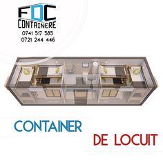 Container dormitor dublu cu grup sanitar si dus propriu.   #fabricatinromania🇹🇩 #container #containerhouse #modular #modularcontainer #containerarchitecture #tinyhouse #smartliving #smartcity #smartbuilding #containerlife #containerliving #sustainableliving #sustainability #containerbuilding #ecology #smartway #3dmodeling #3dmodel #fabricadecontainere #containerefdc Container Buildings, Container Architecture, Smart City, Sustainable Living, Ecology, Sustainability, Tiny House, Life, Tiny Houses