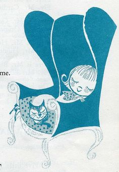 "From ""Finger & Action Rhymes"" by Mabelle B. McGuire. Illustrated by Cynthia Amrine. 1959.:"