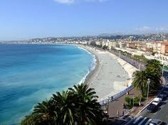 Nice. On the French Riviera