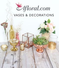 Beautiful vases and