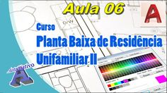Planta Baixa de Residência Unifamiliar II – Aula 06 - configurações de C...