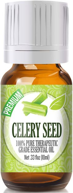 Celery Seed Essential Oil has a warm, sweet earthy aroma with occasional herbal notes. Botanical Name: Apium graveolens