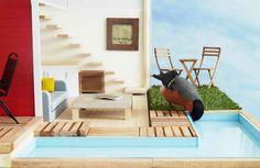Clas Ohlson creates a super luxurious birdhouse for your garden
