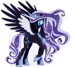 Princess Nightmare Rarity by NightmareLunaFan