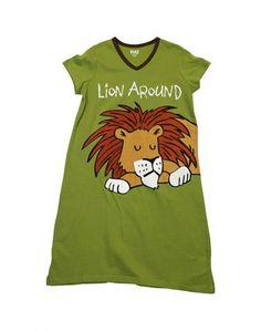 76a79f4981 D  Lion Around V-Neck PJ Nightshirt