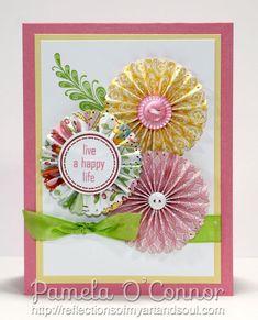 rosette flowers - Scrapbook.com
