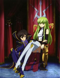 Code Geass Lelouch of the Rebellion : Lelouch, C.C.