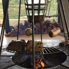 Bodega Garzon Uruguay, nuestra cocina de fuegos.