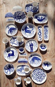 Becca Jane Studio Pottery Art Ceramics by Becca Jane Koehler Pottery Painting Designs, Pottery Art, Pottery Ideas, Ceramic Painting, Ceramic Artists, Hand Painted Ceramics, White Ceramics, Painted Ceramic Plates, Hand Painted Pottery