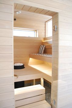modern sauna