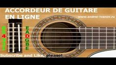 accordeur guitare acoustique - YouTube