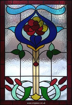 Minster patterned glass