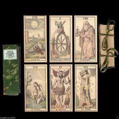 RAR! Tarocco Italiano Milano 1845 c. Italienisches Tarot limmitiert Zertifikat