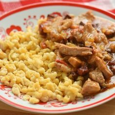 Egyszerű borsos tokány Meat Recipes, Cooking Recipes, Hungarian Recipes, Cook At Home, Food 52, Macaroni And Cheese, Main Dishes, Bacon, Clean Eating