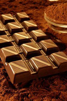 Bar von Schokolade, Milchschokolade, Schokolade