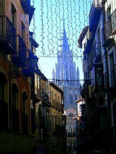 Toledo en Navidad  Spain   by Elena Belloso.
