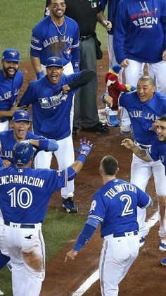 This is something that I predict happening in the future, I think the blue jays will win the World Series Blue Jay Way, Go Blue, Baseball Pictures, Baseball Players, Baseball Season, Babe Ruth, American League, Toronto Blue Jays