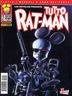 Tutto Rat Man di Ortolani (parodia Terminator)
