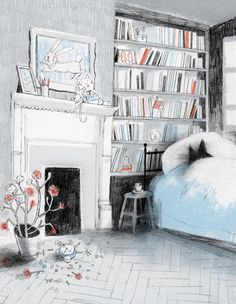 Seven Impossible Things Before Breakfast,  A fantastic picture book blog by the gracious Jules Danielson. #childrens_book #illustration #picture_book