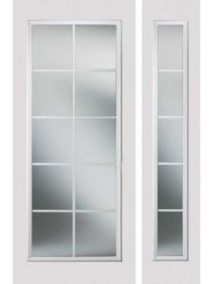 "lowes/single 34"" french 10 lite with sidelite 