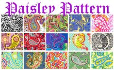 """The lacy teardrop pattern known as paisley is Persian in origin..."""