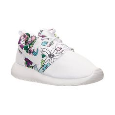 Women's Nike Roshe One Print Casual Shoes (€70) ❤ liked on Polyvore featuring shoes, sneakers, nike, retro shoes, print shoes, nike trainers, synthetic shoes and jogging shoes