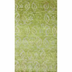 @Overstock - Woven with pure New Zealand Wool, these exceptionally fine rugs are hand-knotted with the most up to date colors for   today's fashion forward interiors.http://www.overstock.com/Home-Garden/Rug-Collective-Hand-knotted-Paisley-Leaves-Green-New-Zealand-Wool-Rug/7604631/product.html?CID=214117 $749.99