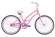 Del Sol Women's Beach Cruiser Pink Panther