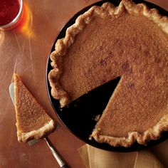 Try this fall-inspired version of the Southern American classic as an alternative to a pumpkin pie at your next Thanksgiving dinner.