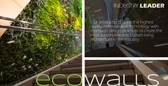 Manufacturer and Designer of sustainable living wall products in the USA. Get Outside, Sustainable Living, Indoor Garden, Sustainability, Usa, Architecture, Wall, Design, Products