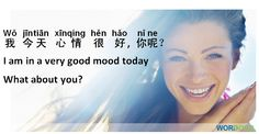 Chinese sentences - How do you feel today? #chinese #mandarin #language
