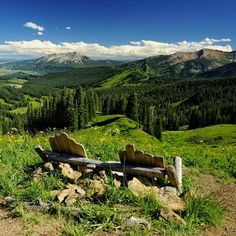 Above Crested Butte