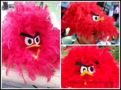 Easter Angry Bird Hat - sawitdidit.wordpress Easter hat ideas for boys