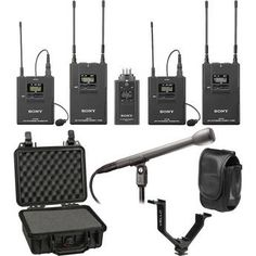 Sony UWP-V6 Dual Wireless ENG Basic Kit (30/32 - 566 to 590MHz) Looking to get a pair of these for my student filmmakers.