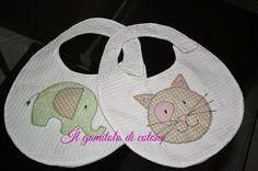 Il gomitolo di cotone: Bavaglini e mini bomboniere!!!