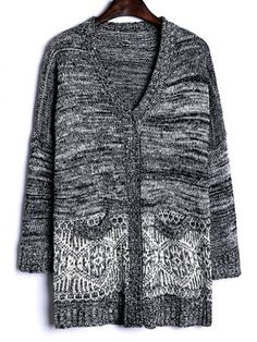 GET $50 NOW | Join RoseGal: Get YOUR $50 NOW!http://www.rosegal.com/sweaters/heathered-color-block-long-knitted-746500.html?seid=3185995rg746500