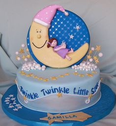 Twinkle, Twinkle, Little Star Cake by cakespace - Beth (Chantilly Cake Designs), via Flickr